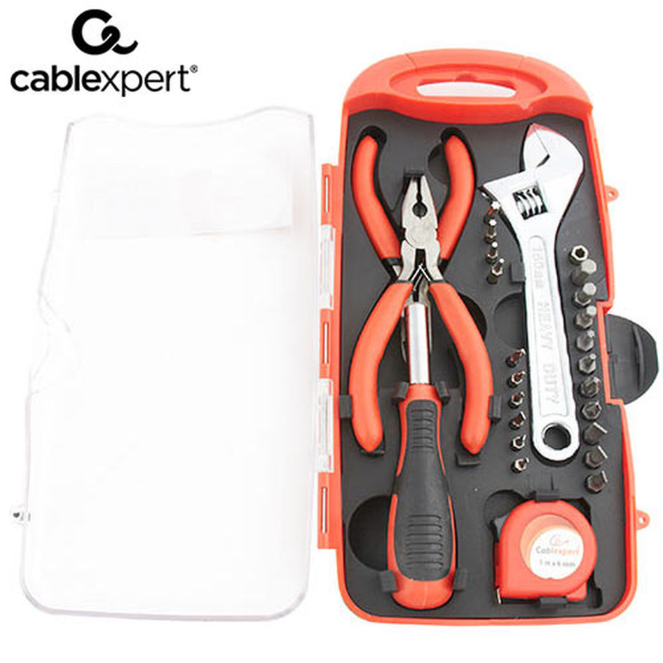 CABLEXPERT TOOL KIT 26PCS
