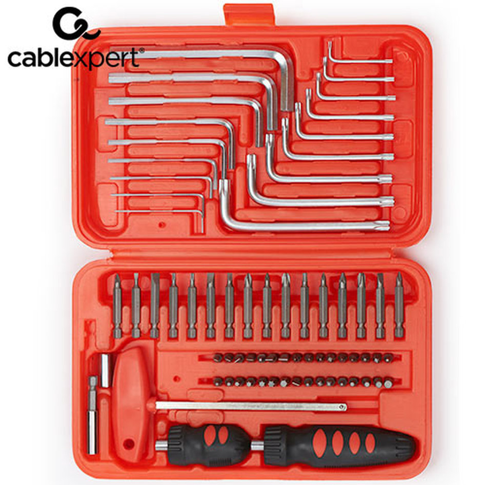 CABLEXPERT TOOL KIT 72PCS