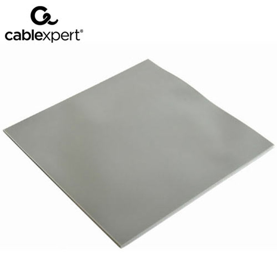 CABLEXPERT HEATSINK SILICONE THERMAL PAD 100x100x1mm