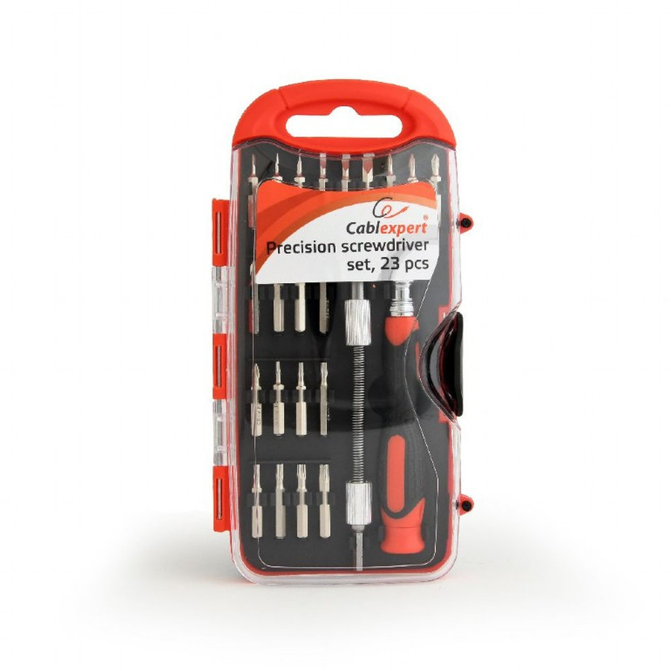 CABLEXPERT PRECISION SCREWDRIVER SET 23PCS
