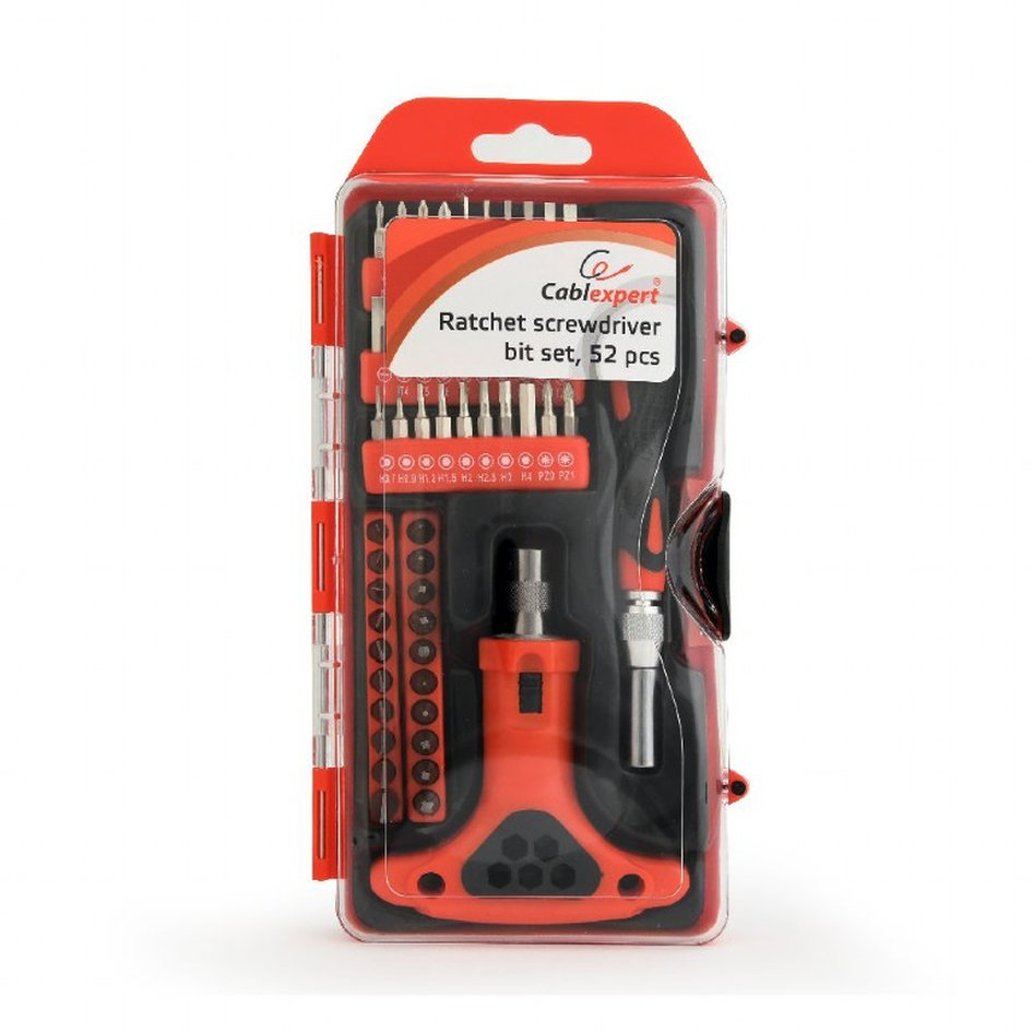 CABLEXPERT PRECISION SCREWDRIVER SET 52PCS