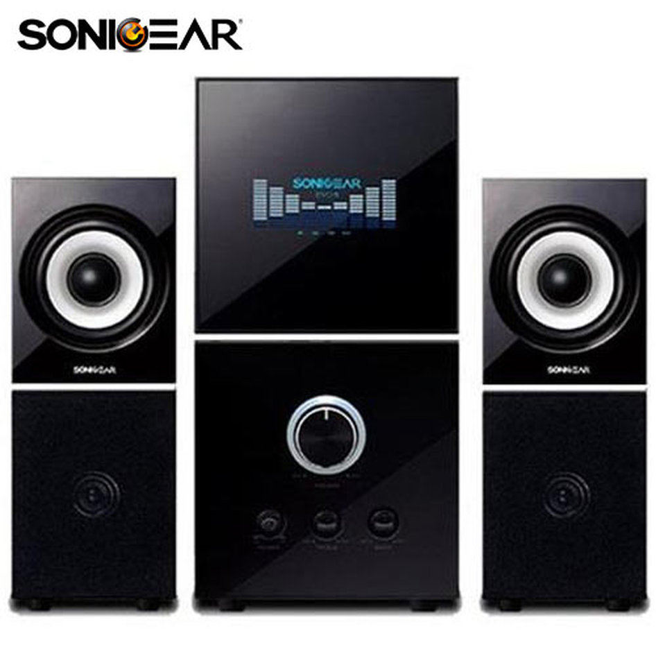 SONICGEARS EVO5 PRO BLUETOOTH MULTIMEDIA AUDIO SPEAKERS 2,1 BLACK