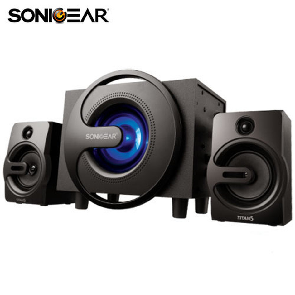 SONIC GEARS COMPUTER SPEAKERS TITAN 5 BLUETOOTH