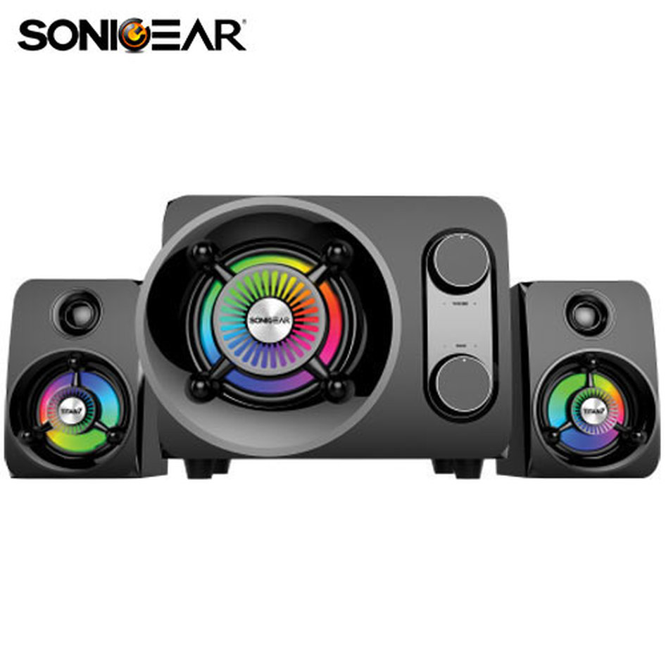SONIC GEAR BLUETOOTH ULTRA BASS 2.1 STEREO SYSTEM