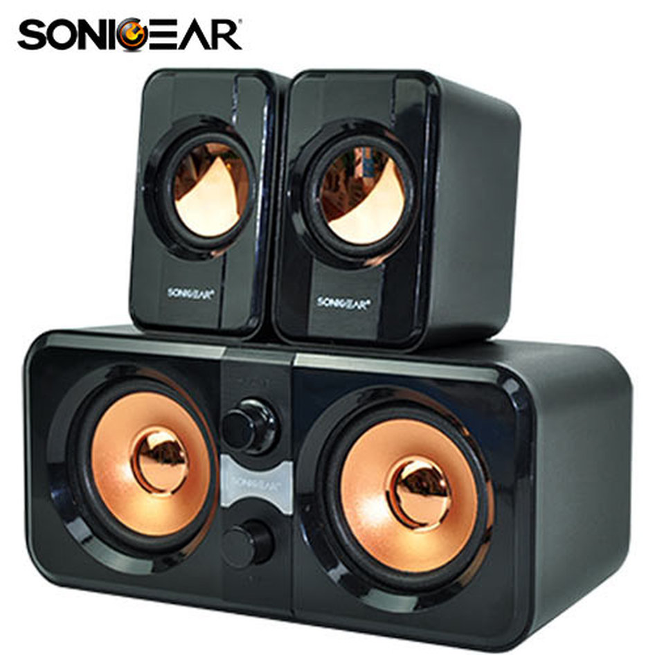 SONIC GEAR MULTIMEDIA SPEAKERS 2,2 MORRO 2200 BLACK
