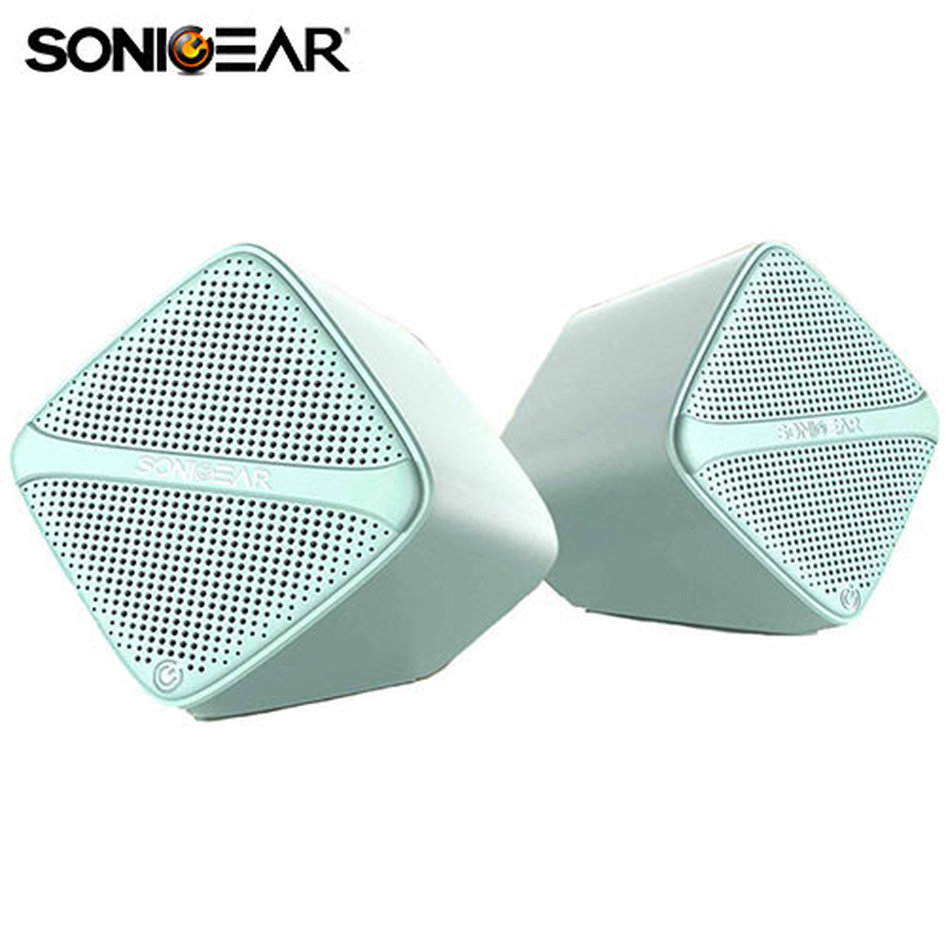 SONIC GEAR SPEAKERS USB DIGITAL AMP + MICRO DRIVER MINT