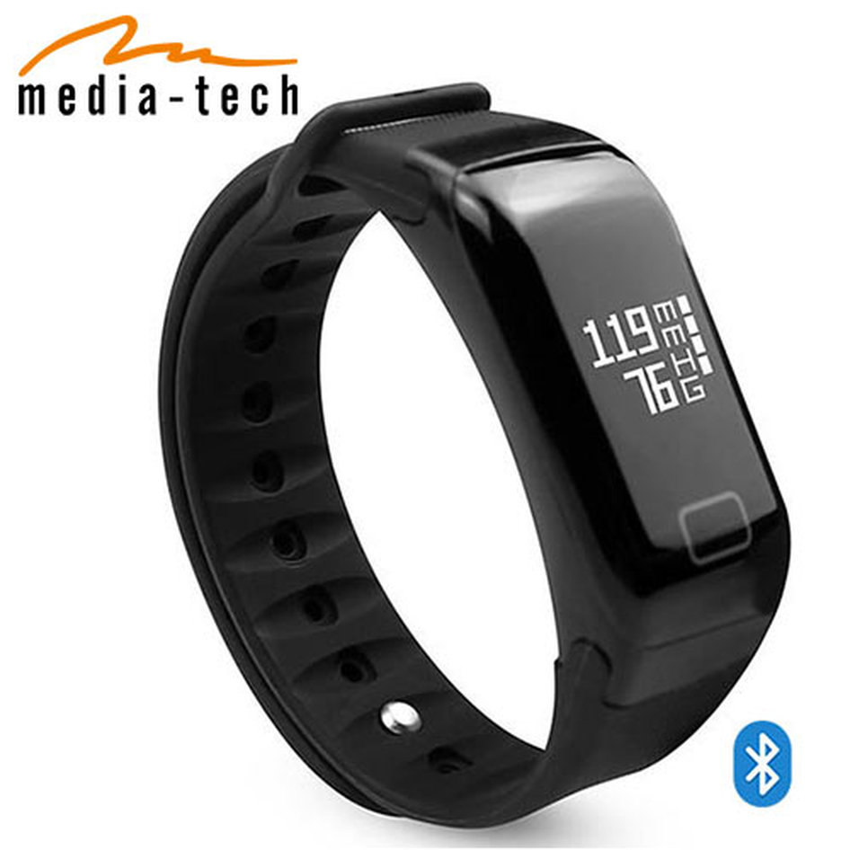 MEDIA-TECH WATERPROOF SMARTBAND BLUETOOTH 4,1