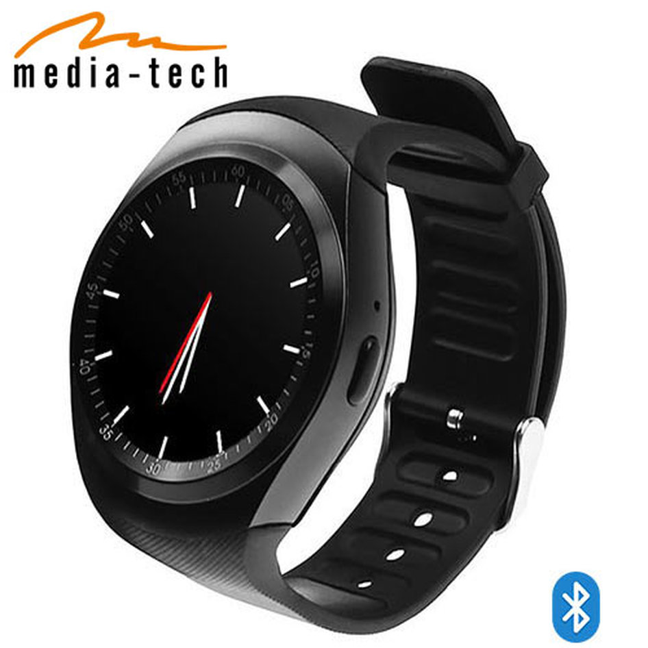 MEDIA TECH BT3.0 ROUND WATCH GSM SIM SLOT