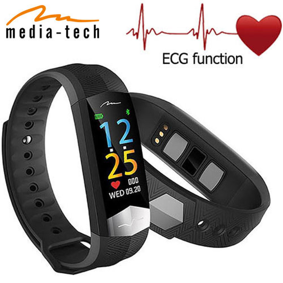 MEDIA-TECH BLUETOOTH 4.0 ACTIVE BAND WITH ECG FUNCTION