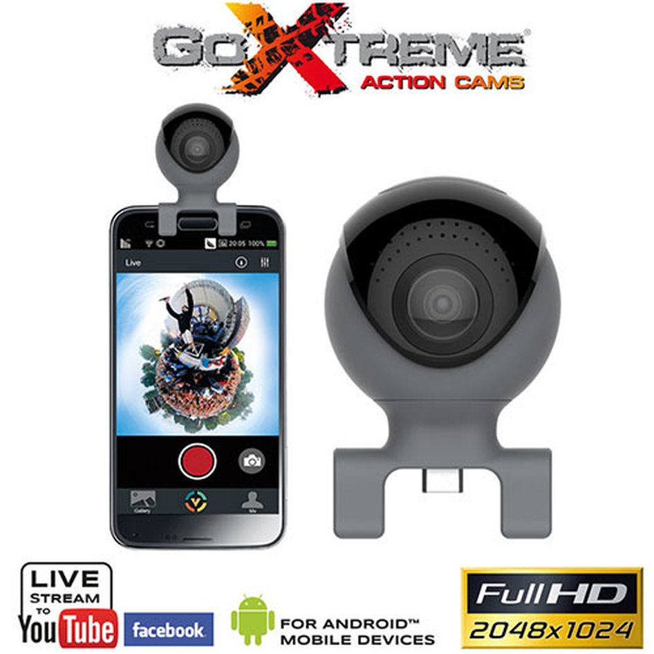 GOXTREME CAMERA OMNI 360o FOR SMARTPHONES