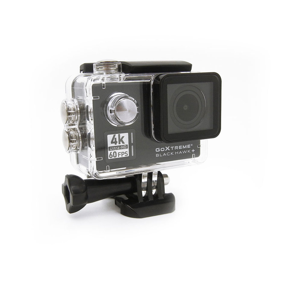 GOXTREME ACTION CAMERA BLACK HAWK+ 4K/60fps with EIS