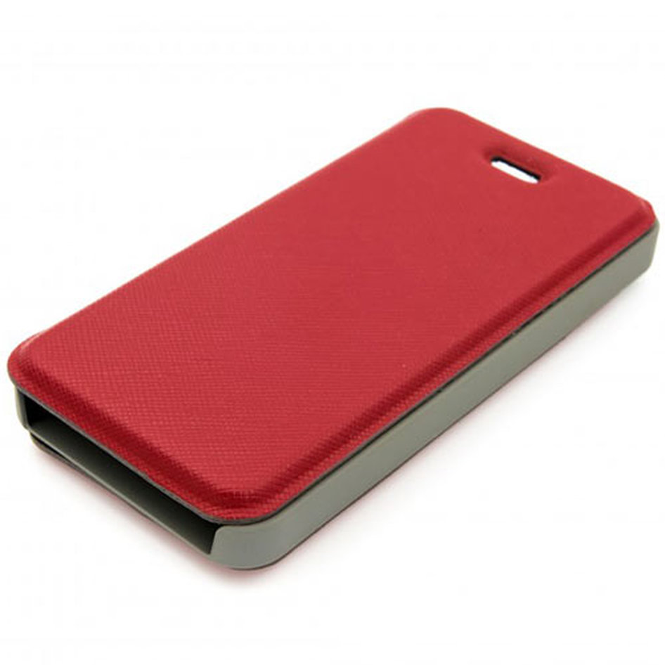 TELLUR MAGNETIC BOOK CASE GALAXY J5 SAFIANO RED