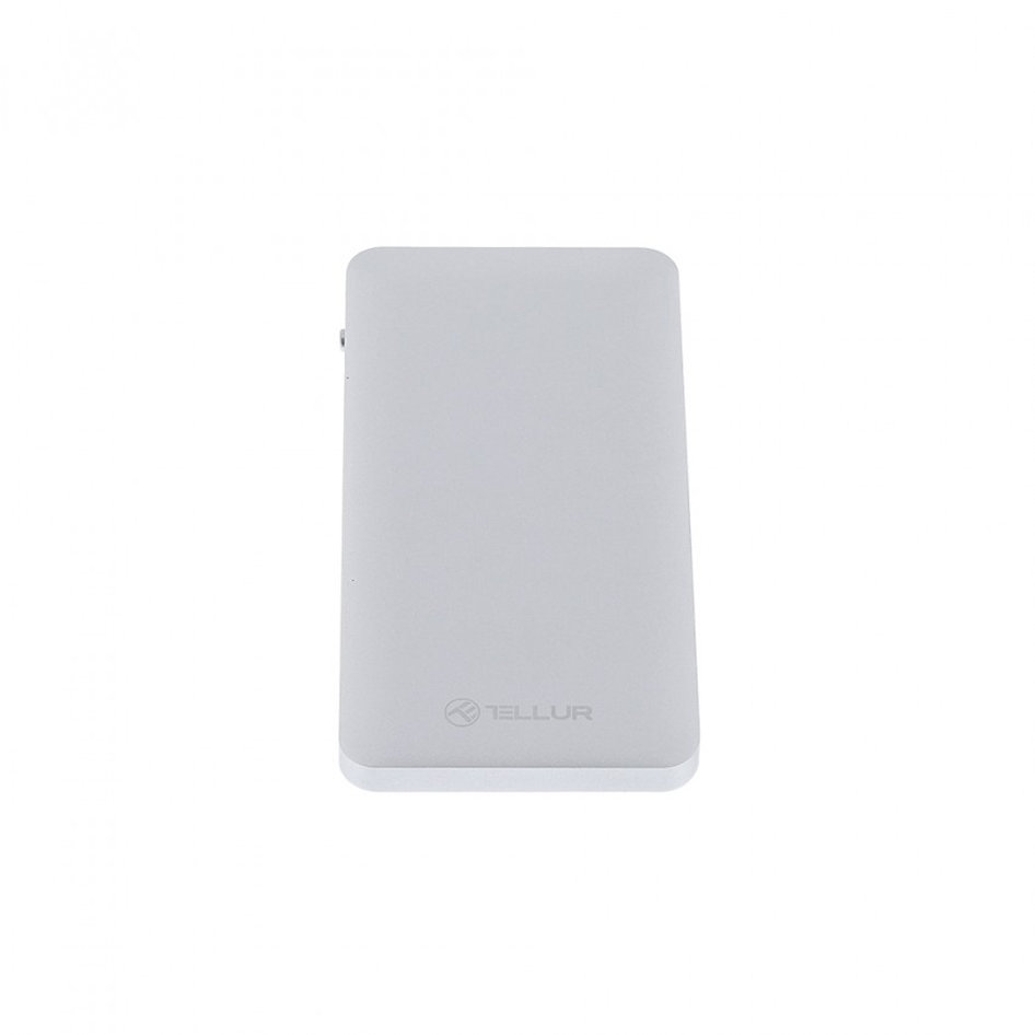 TELLUR QUALCOMM 3,0 10000MAH SLIM METALIC POWERBANK SILVER