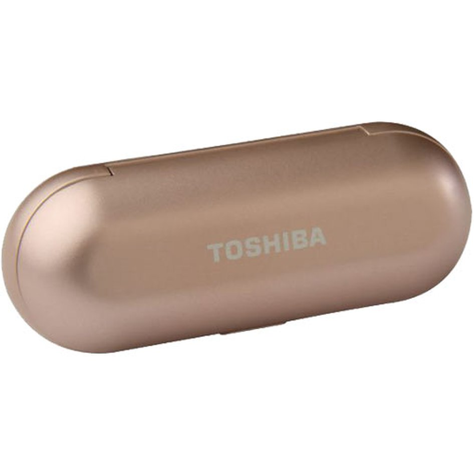 TOSHIBA AUDIO WIRELESS EARBUDS WITH BUILD-IN DUAL MIC ROSE GOLD