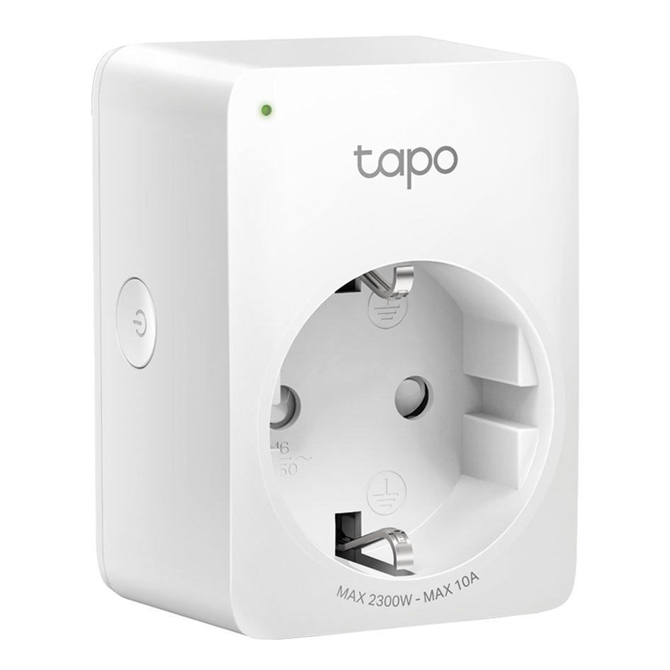 TP-LINK smart αντάπτορας ρεύματος TAPO-P100, Wi-Fi, bluetooth, Ver. 1.0