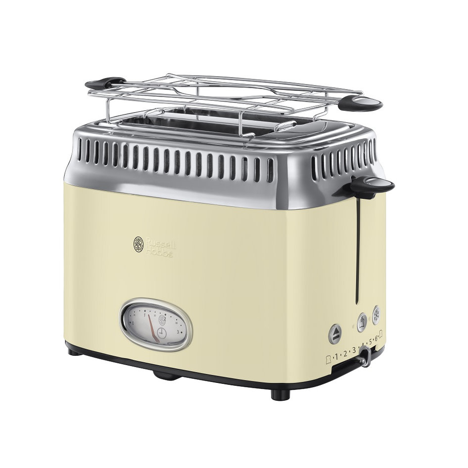 RH 21682-56 Retro Vintage Cream Toaster