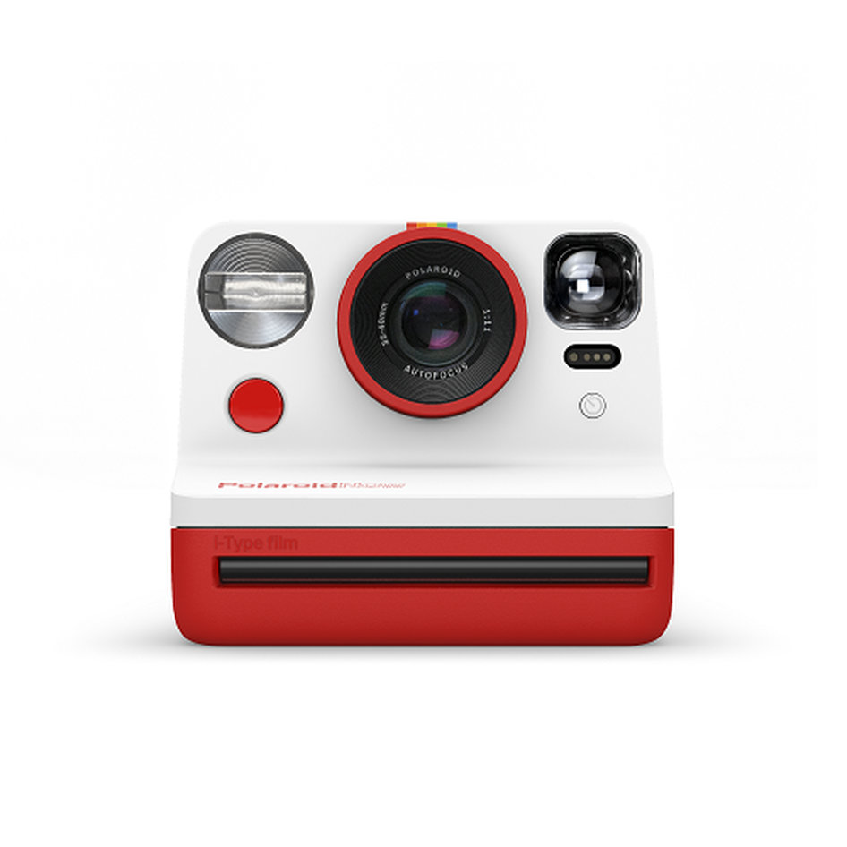 Polaroid Now - Red Camera