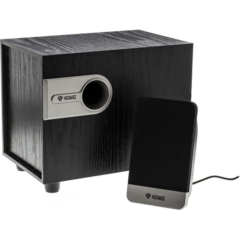 Yenkee 2.1 Desktop Speaker System YSP 212BK  (hot weekends)