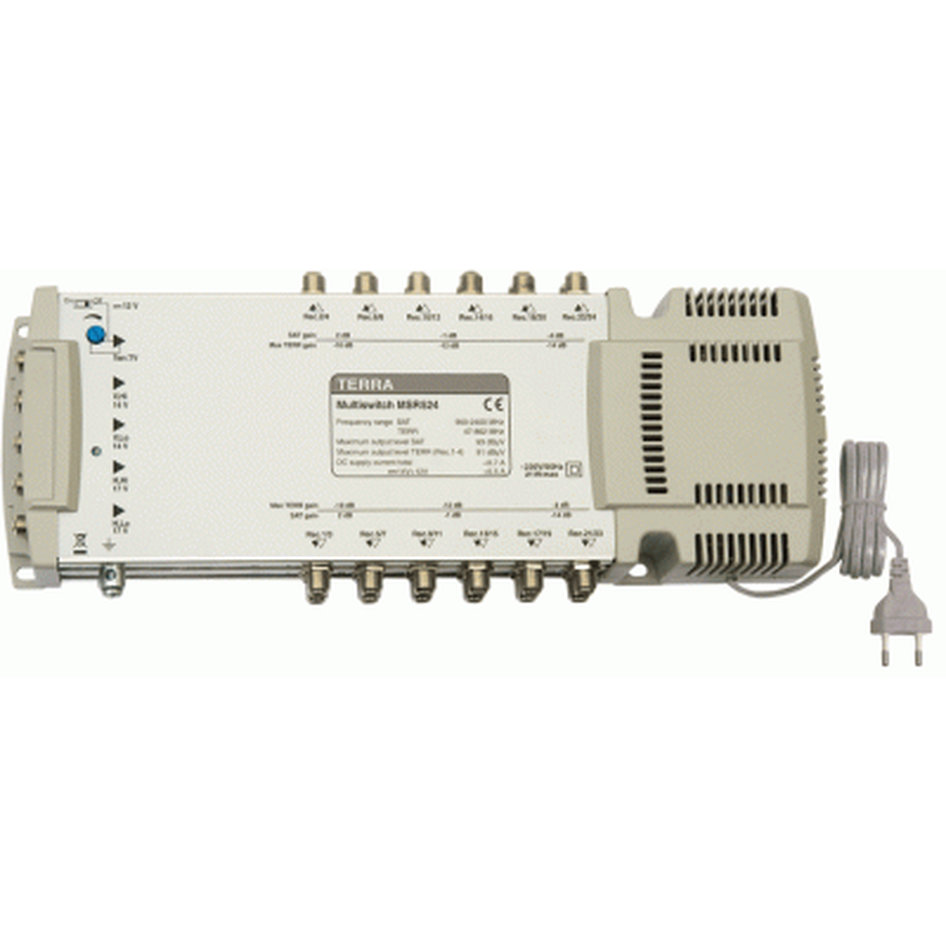 TERRA MR524 Radial multiswitch, 5x24 outputs