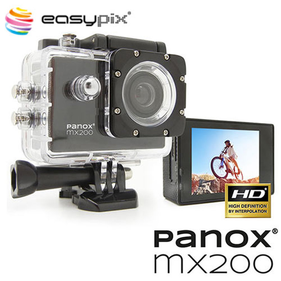 EASYPIX WATERPROOF ACTION & WEB CAMERA PANOX MX200