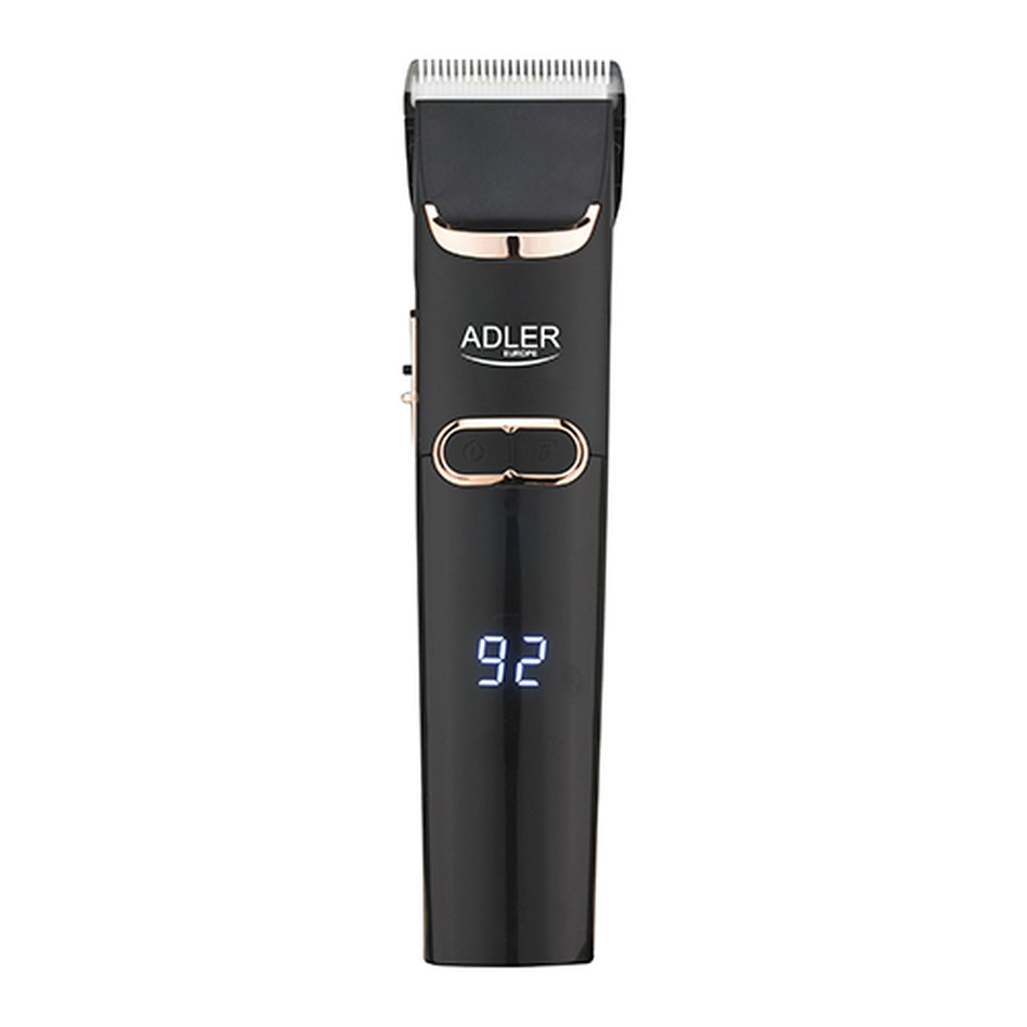 ADLER HAIR CLIPPER WITH LCD SCREEN