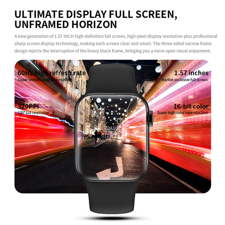 HIFUTURE smartwatch HITime Mini, 1.57