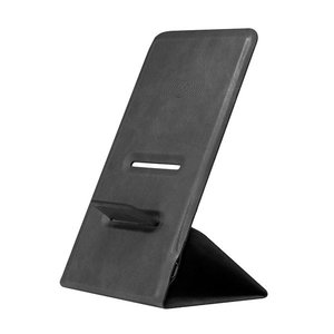 Celly Wireless Charger Stand Fast Slim Μαύρο