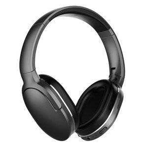 BASEUS bluetooth headphones ENCOK D02, wireless & wired, μαύρο