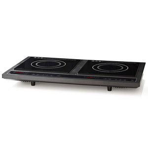 NEDIS KAIP112CBK2 Double Induction Cooker, 3400 W