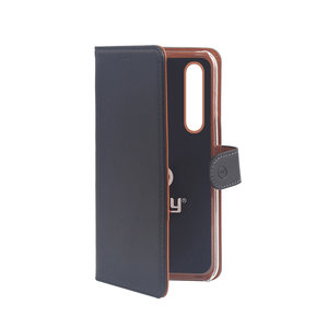 Celly Case Wally Samsung Galaxy A50 Μαύρο