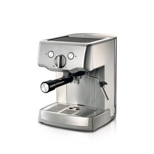 ARIETE 1324 METAL ESPRESSO MACHINE FOR POWDER AND POD